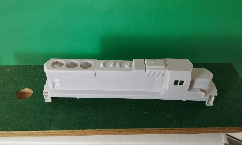 HO Scale EMD/ICG SD20 Locomotive Shell