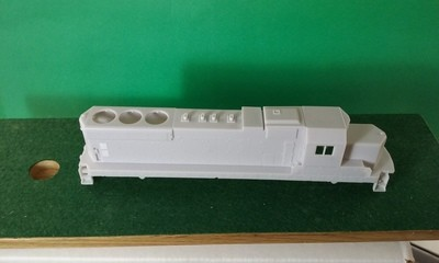 HO Scale EMD/ICG SD20 Locomotive Shell
