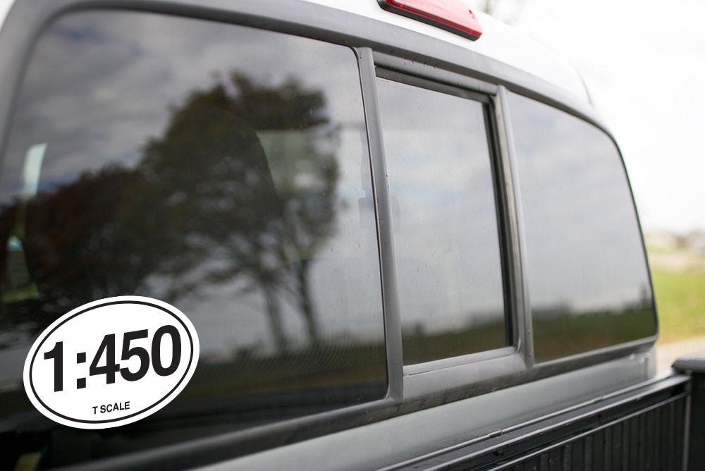 Vinyl Sticker - 1:450 T Scale