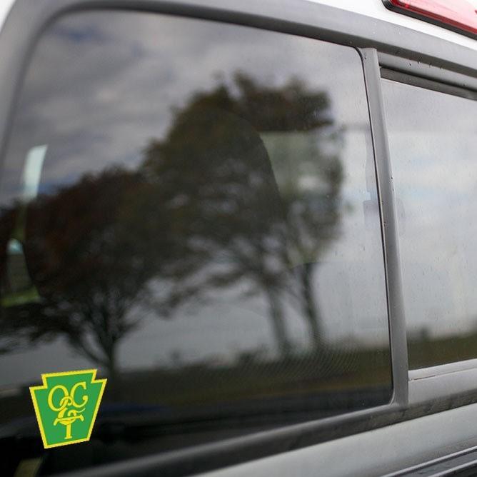 Vinyl Sticker - Oil Creek and Titusville (OCT Green/Yellow) Logo
