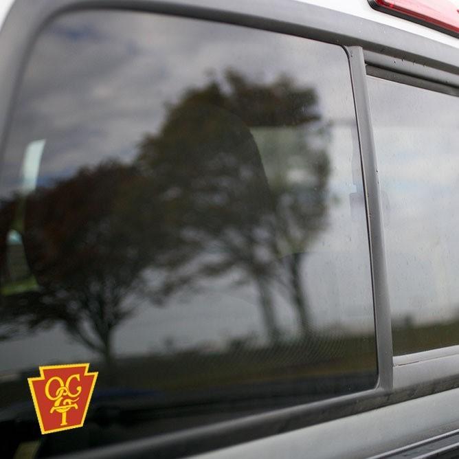 Vinyl Sticker - Oil Creek and Titusville (OCT Maroon/Yellow) Logo
