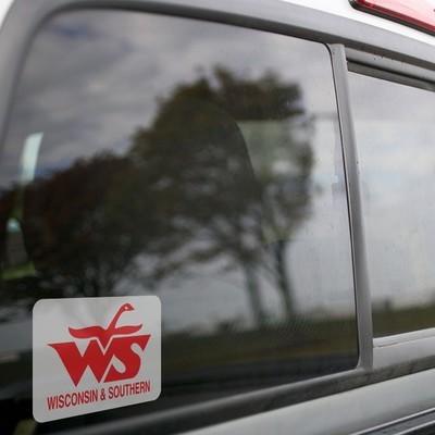 Vinyl Sticker - Wisconsin Southern Railroad Logo (WSOR)