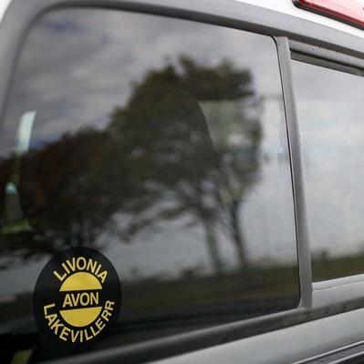 Vinyl Sticker - Livonia, Avon & Lakeville (LAL) Logo