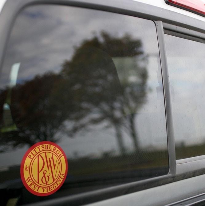 Vinyl Sticker - Pittsburgh & West Virginia (PWV) Logo