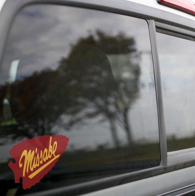 Vinyl Sticker - Duluth, Missabe and Iron Range (DMIR) Arrow Logo