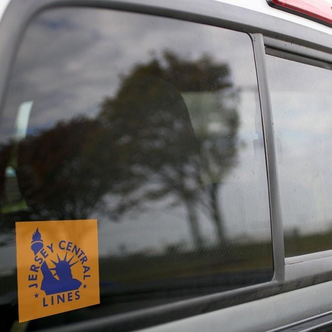 Vinyl Sticker - Central New Jersey (CNJ) Orange/Blue Logo