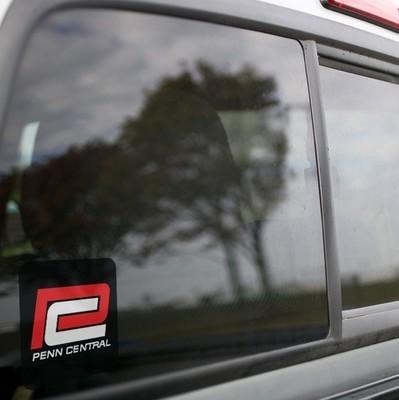 Vinyl Sticker - Penn Central (PC) Red P Logo