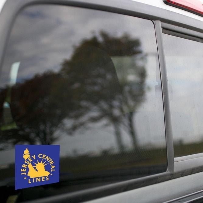 Vinyl Sticker - Central New Jersey (CNJ) Blue/Orange Logo