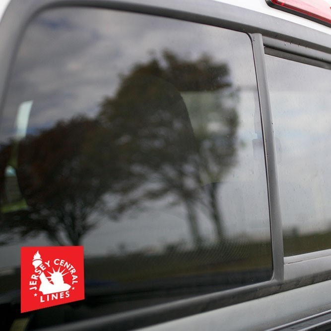 Vinyl Sticker - Central New Jersey (CNJ) Red/White Logo