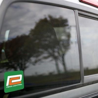 Vinyl Sticker - Penn Central (PC Green/Orange C) Logo