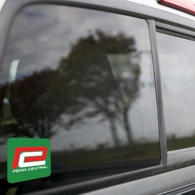 Vinyl Sticker - Penn Central (PC Green/Red P) Logo