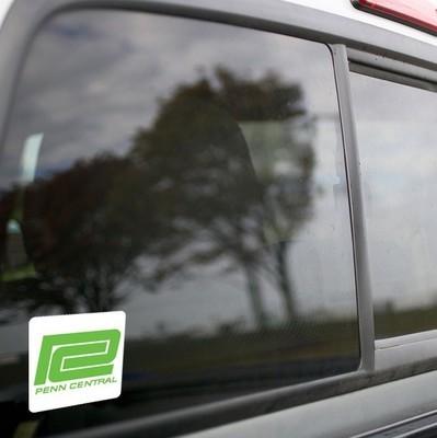 Vinyl Sticker - Penn Central (PC White/Green) Logo