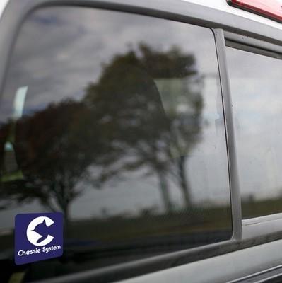 Vinyl Sticker - Chessie Safety Caboose Logo (Blue/White)