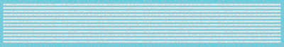 Sill Striping, Non-Reflective Waterslide Decals