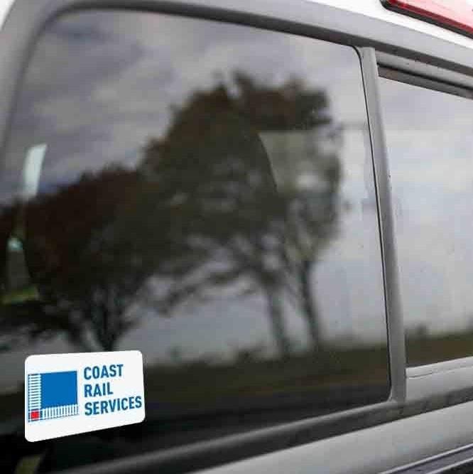 Vinyl Sticker - Coast Rail Service (CRSX) Logo