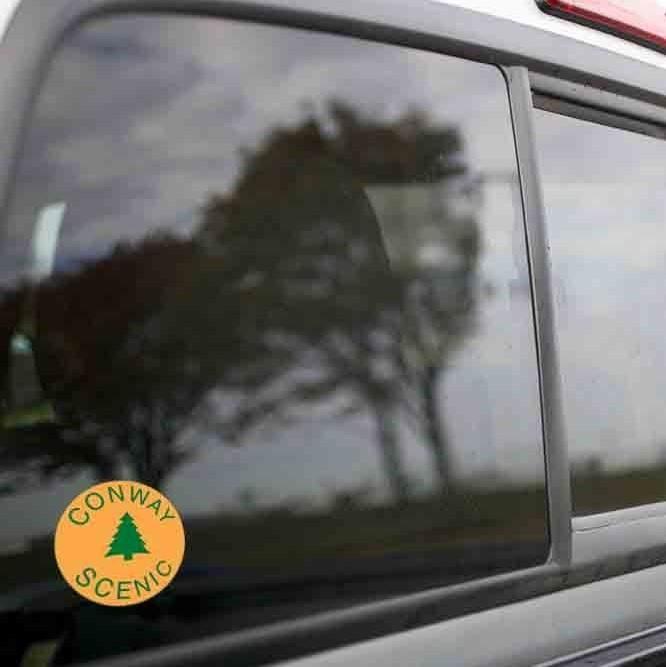 Vinyl Sticker - Conway Scenic (CSRX Orange/Green) Logo
