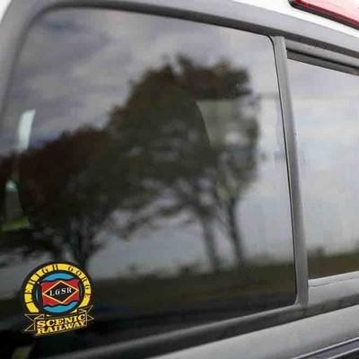 Vinyl Sticker - Lehigh Gorge Scenic Logo