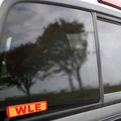 Vinyl Sticker - Wheeling and Lake Erie (WE Kodachrome) Logo