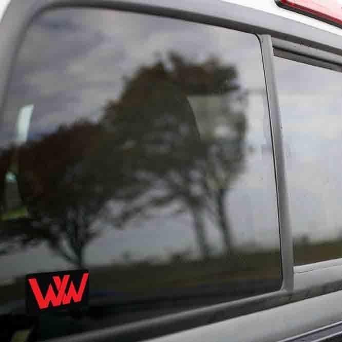 Vinyl Sticker - Winchester Western (WW Black/Red) Logo