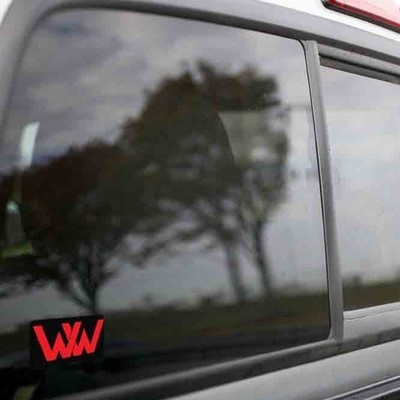 Vinyl Sticker - Winchester Western (WW Black/Red) Logo