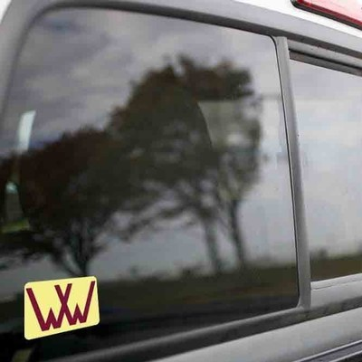 Vinyl Sticker - Winchester Western (WW Sand/Red) Logo