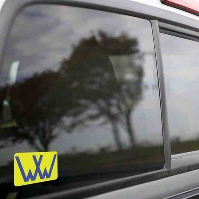 Vinyl Sticker - Winchester Western (WW Yellow/Blue) Logo