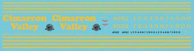 Cimarron Valley Locomotive GEs (2019+)