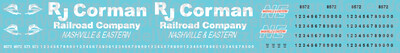 Nashville & Eastern Locomotives (RJ Corman)