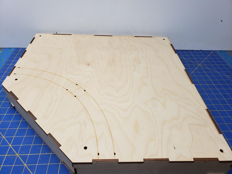 N Scale T-TRAK Inside Turn Module
