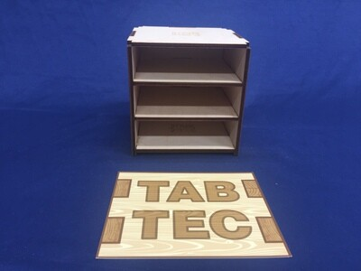 TabTec Workbench Shelf Units