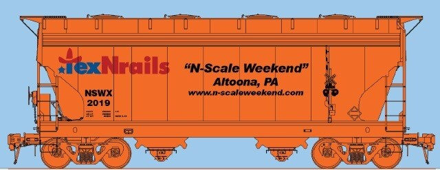 N Scale Weekend 2019 Collectible Car