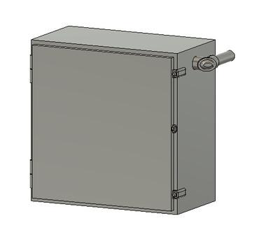 N Scale Detail Parts - NS SD40E Cab Signal Box (Qty 4)