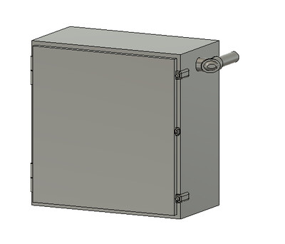 HO Scale Detail Parts - NS SD40E Cab Signal Box (Qty 4)