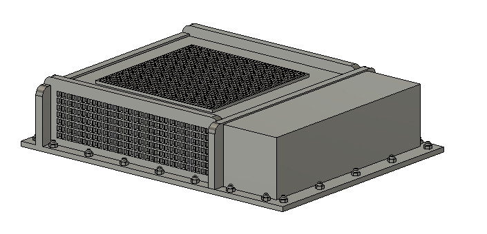 N Scale Train Parts - Vapor Type AC Unit (Qty 2)