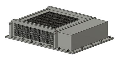 N Scale Train Parts - Vapor Type AC Unit (Qty 2)