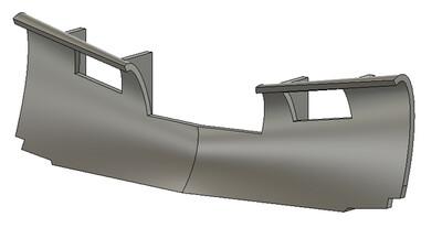HO Scale Train Parts - Generic Snow Plow A (Qty 2)