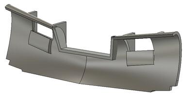 HO Scale Train Parts - Generic Snow Plow B (Qty 2)