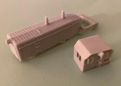 N Scale - ICG SW14 Locomotive Shell