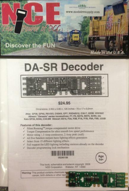 NCE 524-106 DA-SR 1A-5F- Atlas Decoder