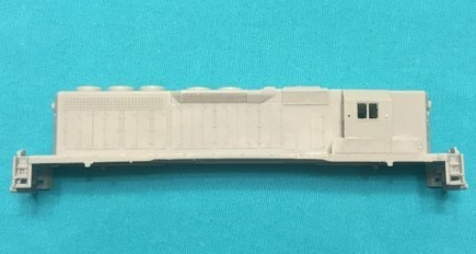 N Scale Trains, SD40 High Hood with DB Locomotive Shell, by CMR Products