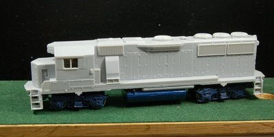 HO Trains BN GP50 Extended Crew Cab Engine Shell