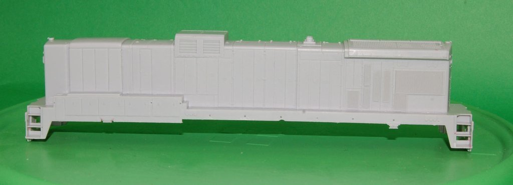 B30-7A1 B Unit Locomotive Shell, HO Trains, by Puttman Locomotive Works