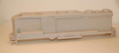 GP30 B Unit Locomotive Shell, HO Scale Trains, by Puttman Locomotive Works