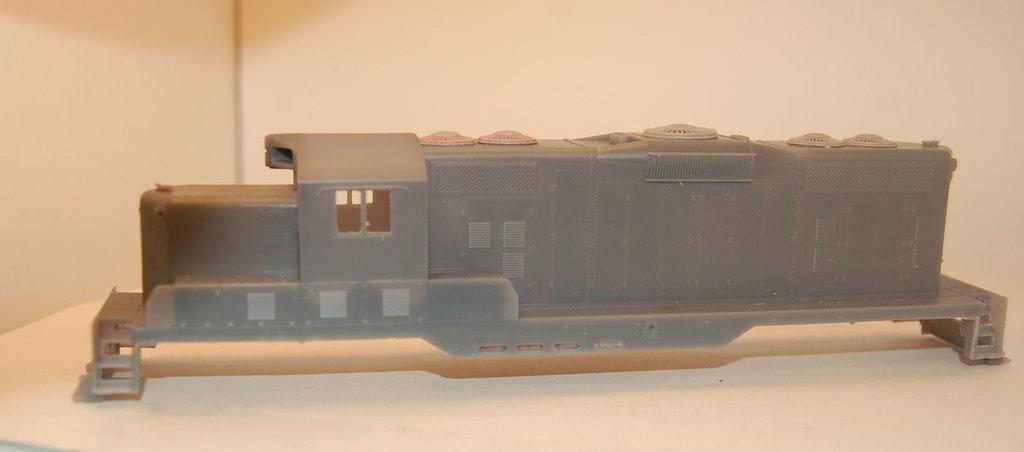 GP7 Chop Nose w/DB Engine Shell, HO Scale Trains, by Puttman Locomotive Works