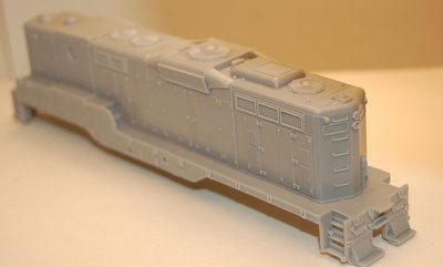 GP7 B Unit with DB Engine Shell, HO Scale Trains, by Puttman Locomotive Works