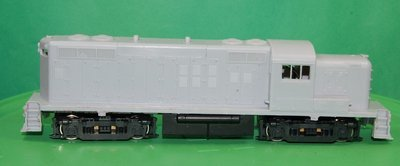RS2M Rock Island Version, Engine Shell, HO Scale Trains, by Puttman Locomotive Works