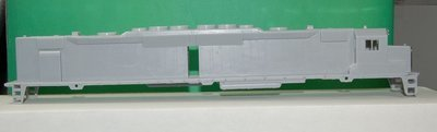 DD35 A Unit Engine Shell, HO Scale Trains, by Puttman Locomotive Works