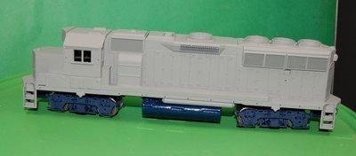 NS GP33 ECO Engine Shell, HO Scale Trains, by Puttman Locomotive Works