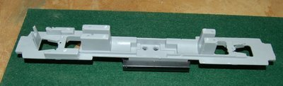 HO Scale 3GS21C Genset, 6 Wheel Truck Version, Chassis Frame and Fuel Tank, HO Scale Trains