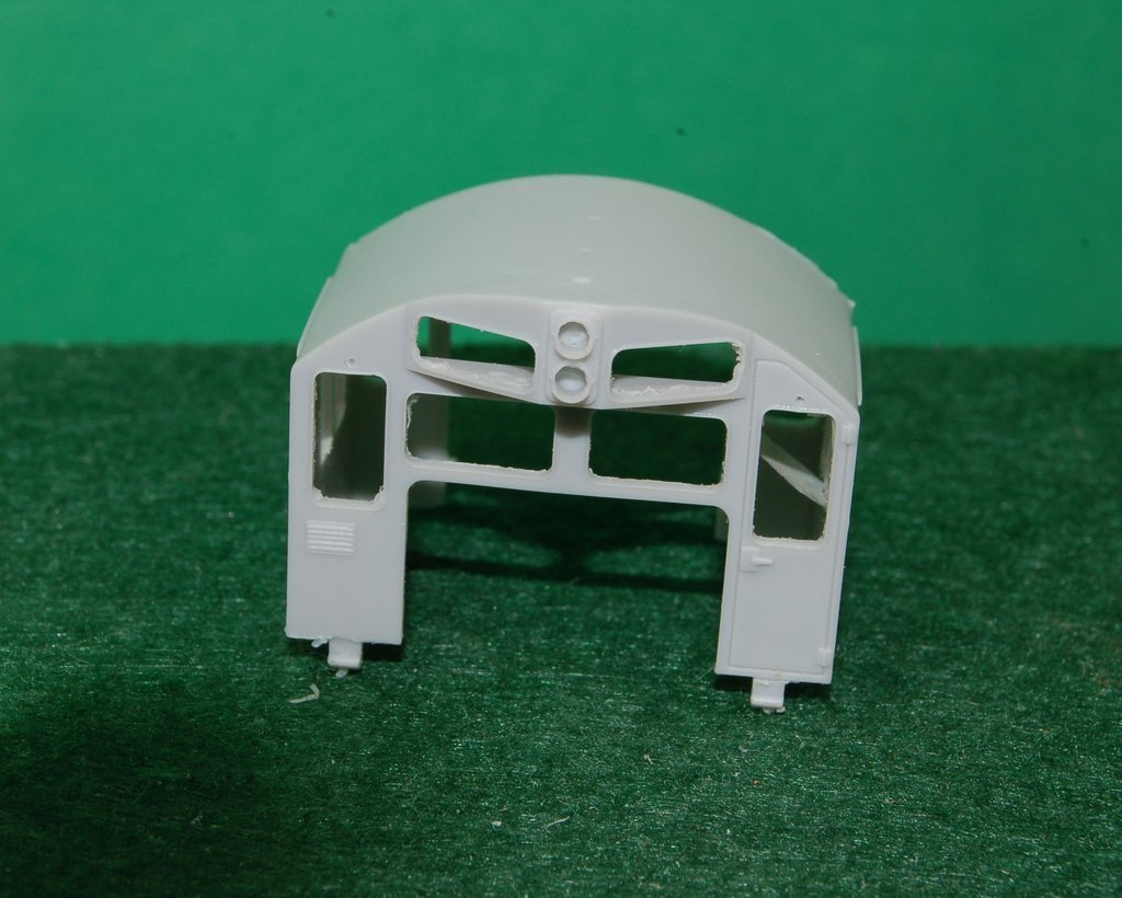 SD26 Cab Section, HO Scale Trains